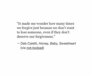 feelings, forgive, and losing image