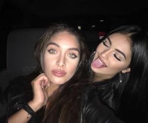 girl and black image