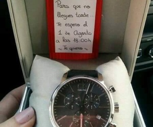 gift, idea, and watch image