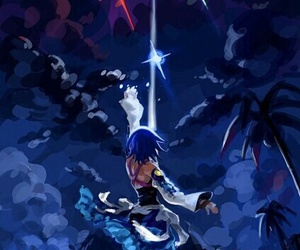 aqua and kingdom hearts image