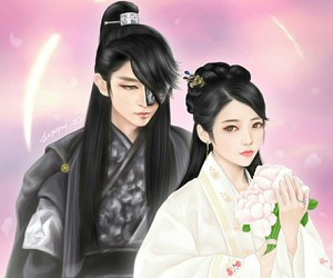 moon lovers, scarlet heart ryeo, and couple image
