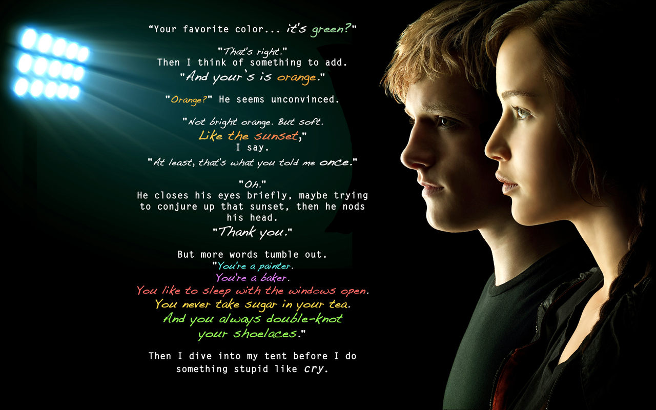 Quotes About Hunger The Hunger Games Movie Series Hunger Games Trilogy Quotes In Pictures