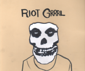 girl, riot girl, and misfits image