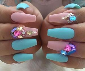 beautiful, nail, and fashion image