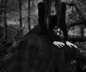 gothic, dark, and goth image
