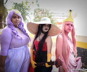 cosplay, lumpy space princess, and girls image
