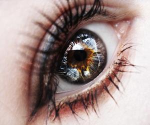girl, beautiful, and eye image