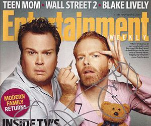 couple, gay, and modern family image