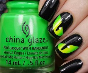 nails, nail art, and Halloween image