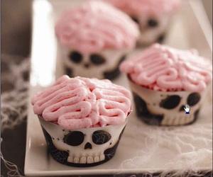 food, Halloween, and cake image