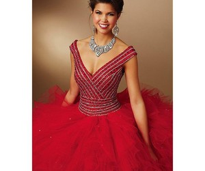 dresses, tulle, and quinceanera image