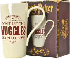 harry potter, collectables, and mug latte muggles image