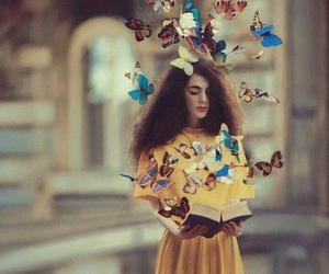butterfly and book image