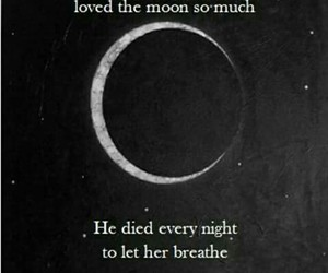 moon, quotes, and romantic image