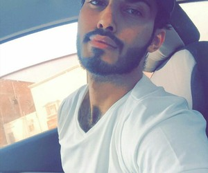 arab, beard, and handsome image