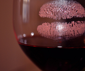 drink, kiss, and lips image