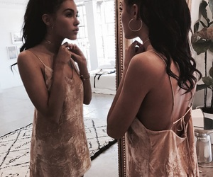 madison beer, dress, and beauty image