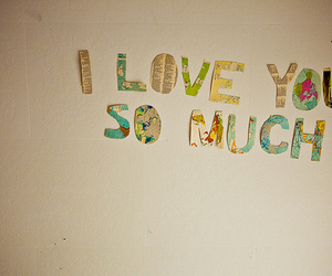 love, I Love You, and text image