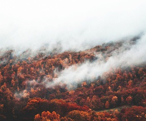 autumn, beautiful, and cloud image