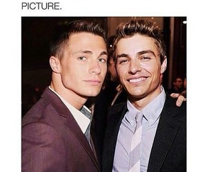 Hot, jawline, and colton haynes image