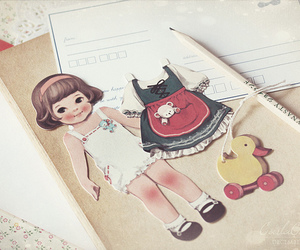 paper doll and paper doll mate image