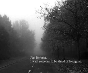 quote and black and white image