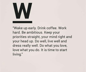 coffee, life, and motivation image