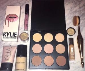 make up, makeup, and kylie image
