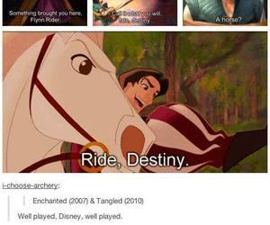 disney, destiny, and tangled image