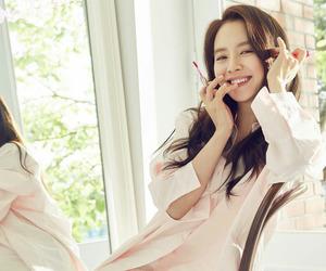 korean girl, korean actress, and korean model image