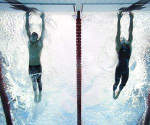 swimmer and swimming image
