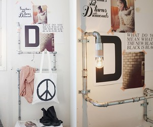 decor, home, and industrial image