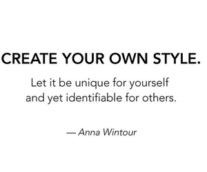 Anna Wintour, style, and vogue image