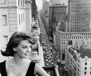 natalie wood, black and white, and vintage image
