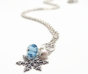 etsy, christmas gift, and christmas necklace image
