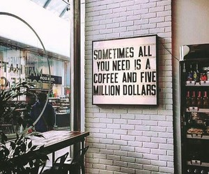 coffee, lover, and money image