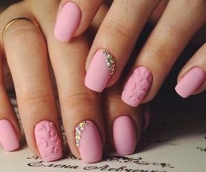 nails, nail art, and girl image