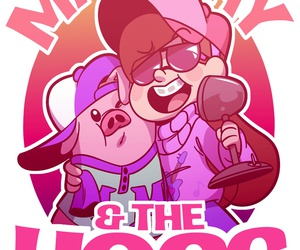 gravity falls and waddles image