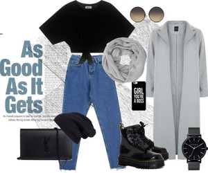 clothing, dr. martens, and fashion image