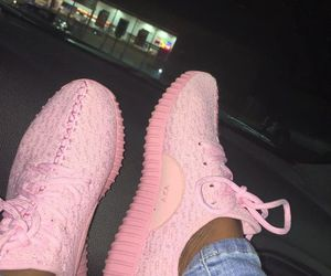 pink and yeezy image