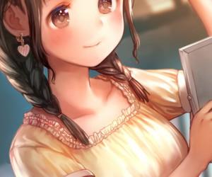 anime, art, and beautiful girl image