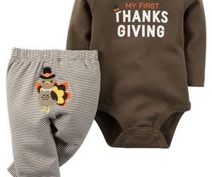 baby boy, newborn, and thanksgiving image
