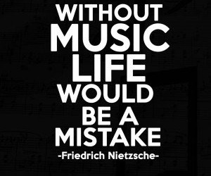 music, true, and quotes image