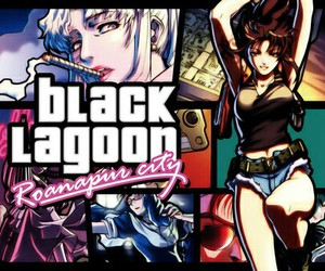 anime and black lagoon image
