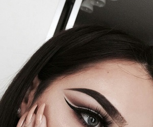 nails, eyebrows, and makeup image