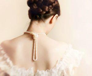 beautiful, braid, and feminine image