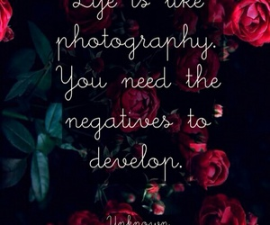 quote, life, and photography image