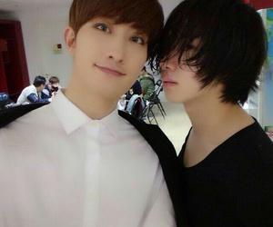 heechul, super junior, and ZhouMi image
