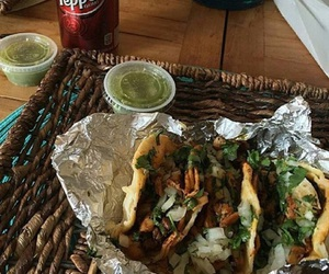 food, tacos, and cyber image