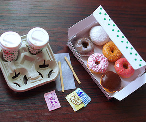donut, donuts, and doughnuts image
